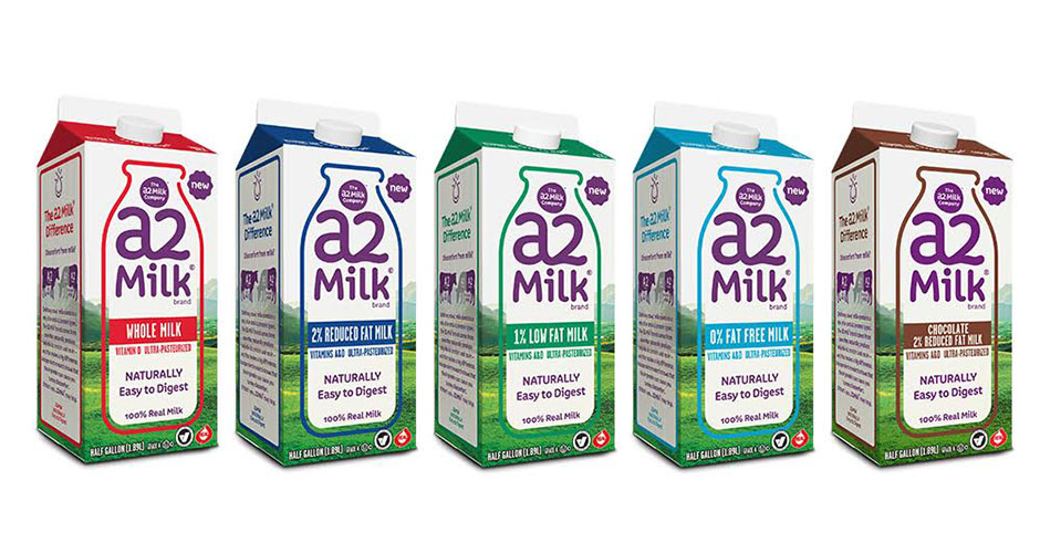 A2 milk on shelves Dairy company said not to be allergic